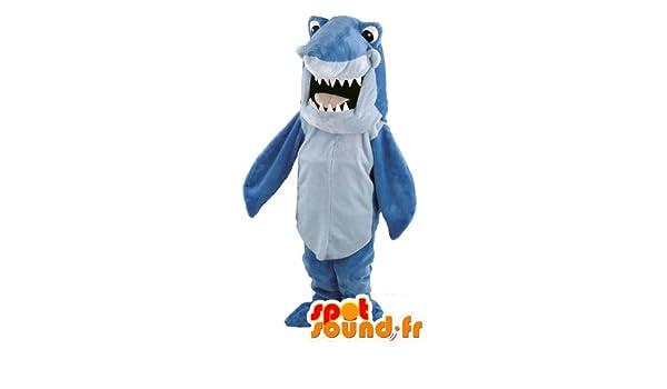 Traje de tiburón azul: Amazon.es: Juguetes y juegos