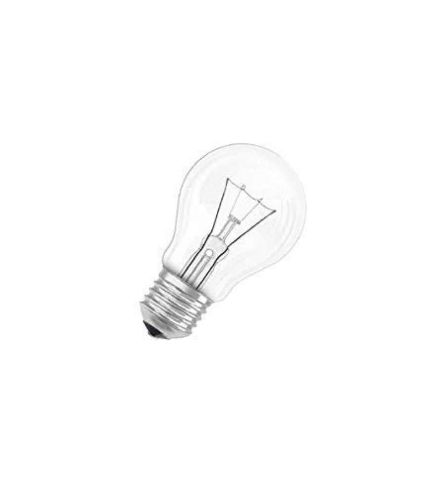 E14 40W vidrio forma de pera Osram Bombilla 30800003/S 10 claro