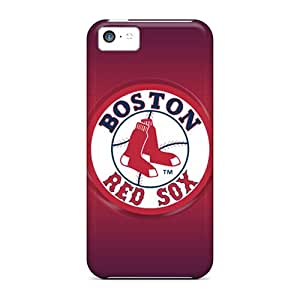 Iphone 5c Hig9512waEJ Unique Design Attractive Boston Red Sox Pattern Scratch Protection Cell-phone Hard Cover -CassidyMunro