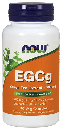 Nutri Green Tea Tea - NOW EGCg Green Tea Extract 400 mg,90 Veg Capsules
