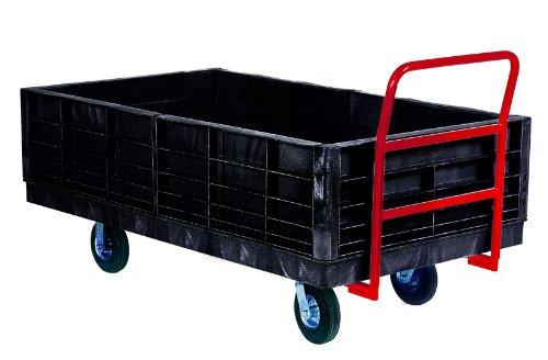 Rubbermaid Platform Trucks (Rubbermaid Commercial Side Panel Package for Heavy Duty Platform Trucks (FG9T0900BLA))