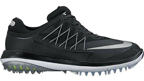 Nike Lunar Control Dampf Sneaker Schwarz (Black/metallic Silver/white)