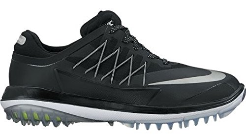 Nike Lunar Control vapore scarpe sportive, Donna Nero (Black/metallic Silver/white)
