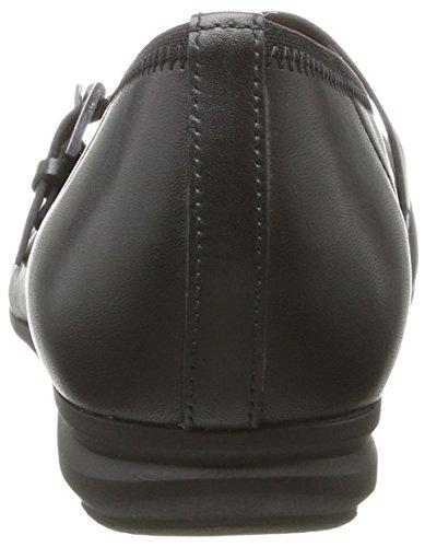 Gabor Ladies Comfort Closed Ballerinas Black (nero 57)