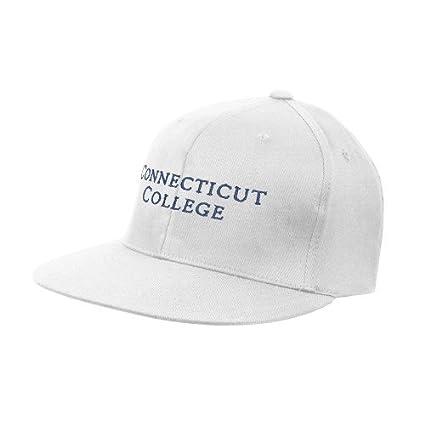 Amazon com : Connecticut College White OttoFlex Flat Bill