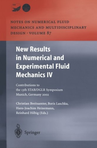 (New Results in Numerical and Experimental Fluid Mechanics IV (Notes on Numerical Fluid Mechanics and Multidisciplinary Design))