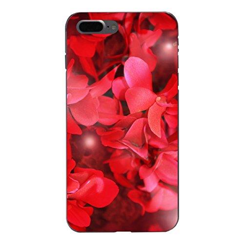 "Disagu Design Case Schutzhülle für Apple iPhone 7 Plus Hülle Cover - Motiv ""Rote Blüten"""