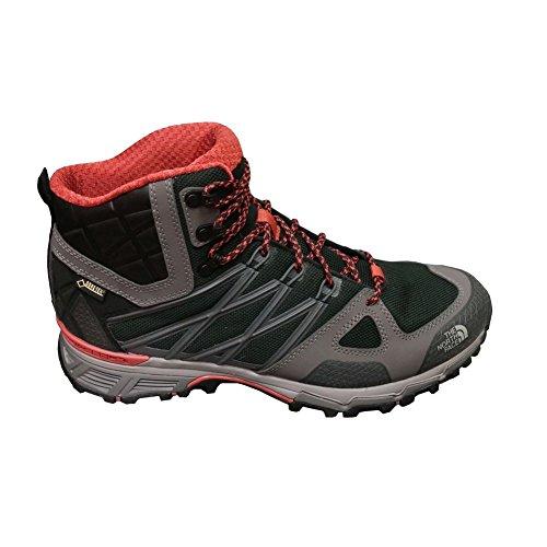 The North Face M Ultra Hike Ii Mid Gtx, Zapatillas de Senderismo para Hombre Negro (TNF Black / Arabian Spice)