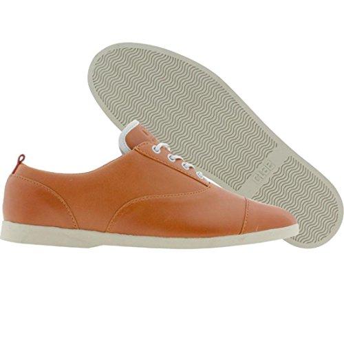 Clae Men's Hockney (caramel leather)-13.0