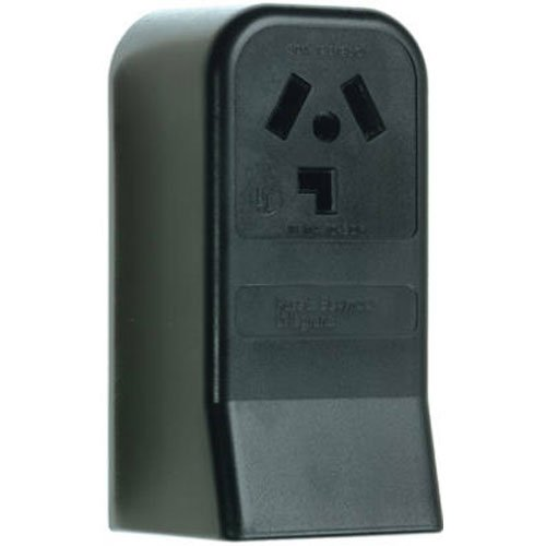 Pass & Seymour 388CC6 3 Pole 3 Wire Surface Mount Dryer Outlet, 30-Amp, 125/250-volt, (Dryer Plug Outlet)