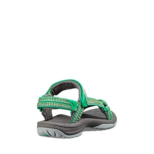 samba Green Fi Multi Teva Fern Eu 36 Terra Sports Woman Lite Sandals wYBn50fx7q