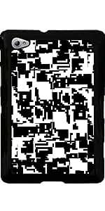 Funda para Samsung Galaxy Tab P6800 - Píxeles Blancos Y Negros by hera56