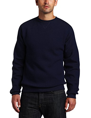 Russell Athletic Men's Dri-Power Fleece Sweatshirt, Navy, Me