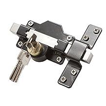 GateMate 149 0186 50mm Long Throw Gate/ Door Lock for Garden Gate by Gatemate