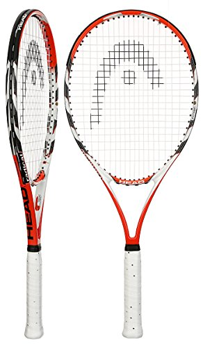 (Head Microgel Radical OS Tennis Racquet, 4 1/2)