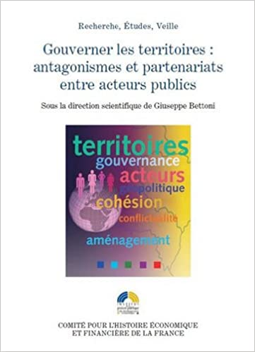 Livres Gouverner les territoires : antagonismes et partenariats entre acteurs publics pdf