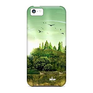 Protection Cases For Iphone 5c / Cases Covers For Iphone(fantasy Island)