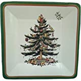 Best Treasuries Of Christmas - Spode Christmas Tree Square Luncheon Plaes by CR Review