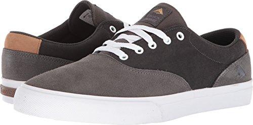 Emerica Provost Slim Vulc Skate Shoe,Grey/Dark