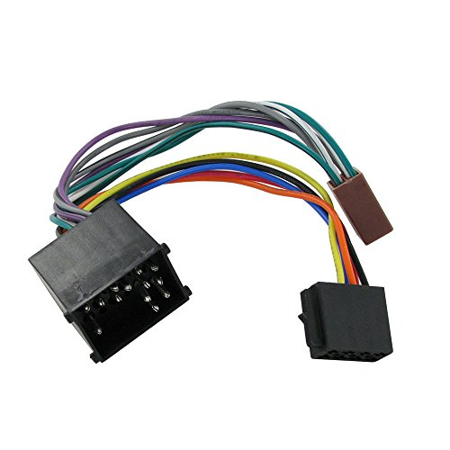 Wiring Lead Harness Adapter for BMW from 1998 to 2003 ISO stereo plug (Car Stereo Iso Plug)