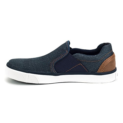 Pictures of Geox Kids Boy's Kilwi 10 (Little UOMO Blue/Light Brown 4