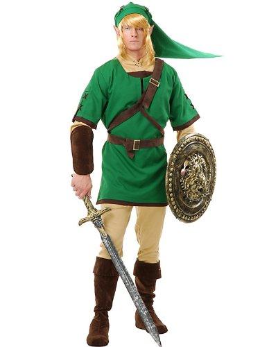 Warrior Elf Costume for Men (Warrior Elf Adult Womens Costumes)