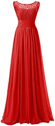 Amazon.com: Red - Bridesmaid / Wedding Party: Clothing- Shoes ...