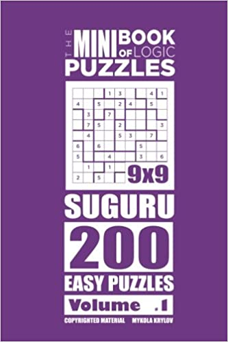 Amazon com: The Mini Book of Logic Puzzles - Suguru 200 Easy