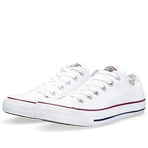 Converse Unisex Chuck Taylor All Star Ox Basketball Shoe (9 B(M) US Women / 7 D(M) US Men, Optical White)