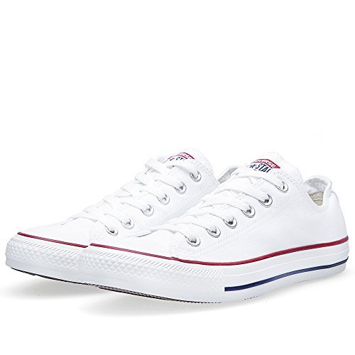 Converse Unisex Chuck Taylor All Star Low Top Sneakers -  (Optical White ) - 6 D(M) US