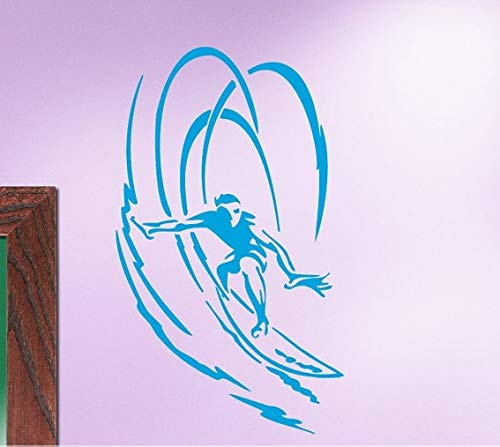 ganlanshu Special Surfer Playboy Extreme Home Bedroom Wall Sticker ...