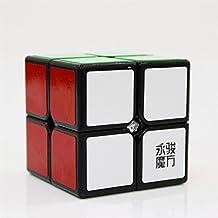 GoodPlay Yongjun YJ Yupo 2x2x2 Speed Cube Puzzle 3D Intelligence Smooth Magic Cube Brain Teaser Puzzle Toys, Black