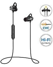 Écouteurs Bluetooth ,Audio HD, Oreillettes Bluetooth Magnétique,8 Heures de Lecture,Ecouteur sans Fil Jogging/Course,Ecouteur Bluetooth Sport Intra-auriculaire pour iPhone Huawei Samsung Sony Xiaomi