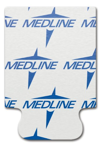 Medline MDS616201A ELECTRODE, ECG, TAB, 10/CARD, 100EA/PK, Adult, White (Case of 5000) by Medline (Image #1)