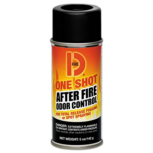 Big D Ind Fire D One Shot After-fire Odor Control, 5 Ounce Aerosol Can Deodorizes Approximately 10000 Cubic feet -- 12 per case. by Big D Industries