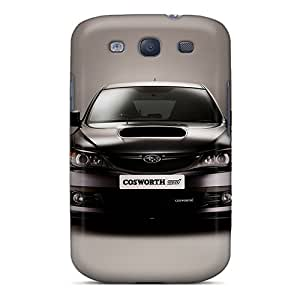 Special MniSquare Skin Case Cover For Galaxy S3, Popular Subaru Cosworth Phone Case