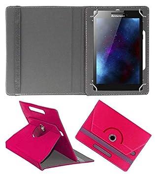 Hello Zone 360 deg; Rotating 7 rdquo; Inch Flip Case Cover Book Cover for Swipe Strike 4g Tablet  Pink