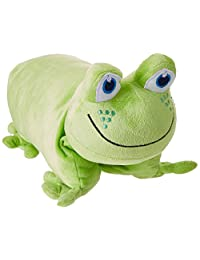 Go Travel Frog Folding Pillow, Green, One Size