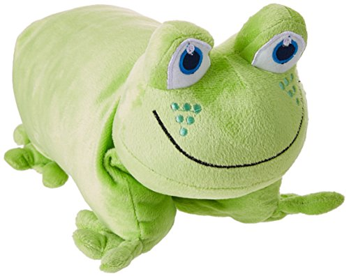 Design Go Frog Folding Pillow, Green, One Size