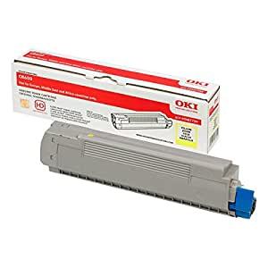 OKI Toner Yellow Pages 6000, 43487709 (Pages 6000)