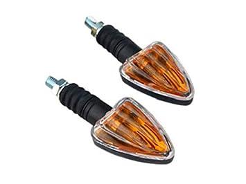 Motorrad Mini LED Rücklicht Bremslicht Rückleuchte Bremsleuchte Shorty klar