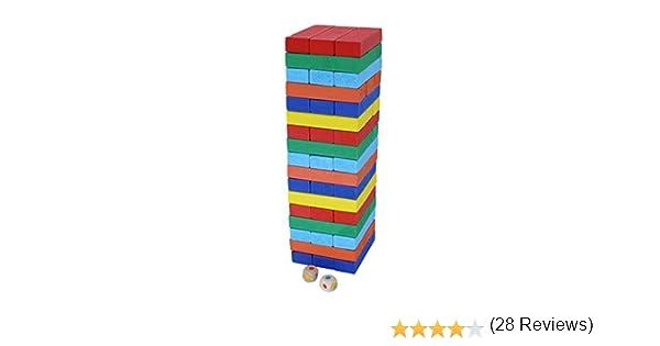 Afunti Juegos de Mesa Juguetes Madera Montessori Juguetes Madera de Colores Juego para Adultos e Infantil: Amazon.es: Juguetes y juegos