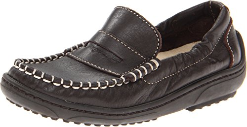 Naturino Boy's Nat. Polo FA13 (Toddler/Little Kid/Big Kid) Brown Leather Loafer 33 (US 2.5 Little Kid) (Naturino Polo)