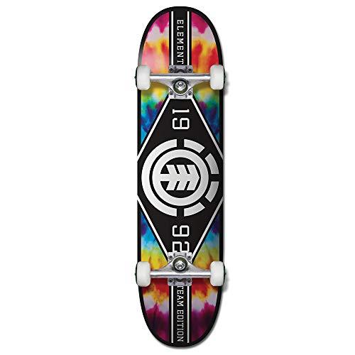 """Element Tie Dye Major League 8.0"""" Complete Skateboard Inch Complete Skateboard Multi Colored 8.0"""