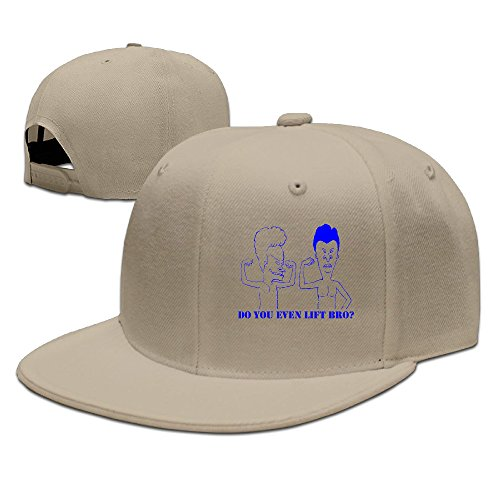 ZOENA Beavis & Butt-Head Cotton Hats Walk Snapback Cap For Outdoor Sports Natural