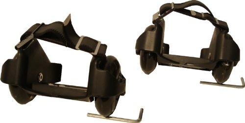 Sunflex Basic - Patines de 2 ruedas para zapatillas (soportan hasta 60 kg de peso), color negro: Amazon.es: Zapatos y complementos