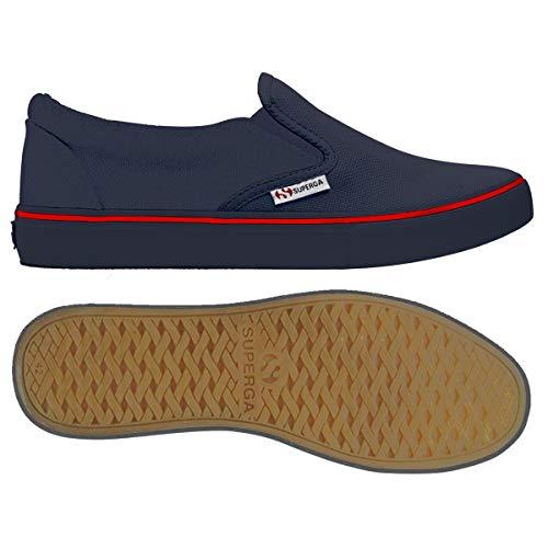 Sneaker Basso Unisex Superga A adulto Collo 2311 cotu stripesrednavy Navy ZqwEa