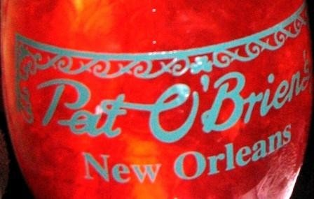 Pat O' Brien's New Orleans Hurricane Glass Have Fun Drinking Glass Collectible