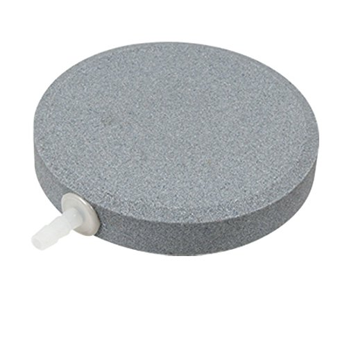 KEWAYO Air Bubble Stone 3.15 Inch, Airstone for Aquarium Fish Tank - Stone Fine Bubble