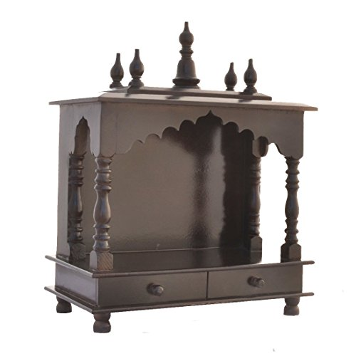 Mereappne Wooden Pooja Mandir |Indian| |Hindu| |Decoration| |Puja| |Cabinet| |Temple| |Bhagwan| |Stand| |Mandapam| |Wall| |Hanging| Decor For Home In Usa (Best Hindu Temples In Usa)